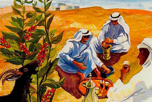 Арабы пьют кофе