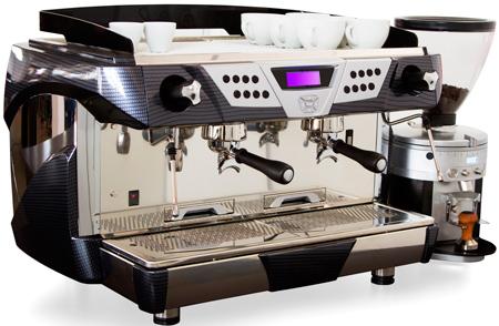 Рожковая кофемашина и кофемолка