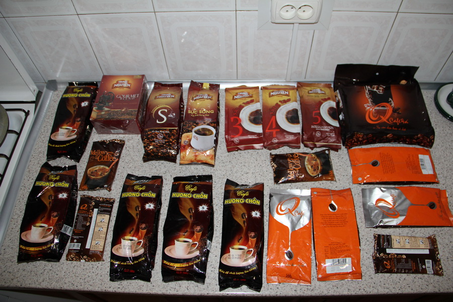 вьетнамский кофе фото