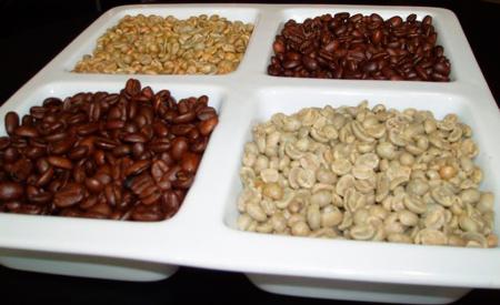Несмешанные сорта кофе