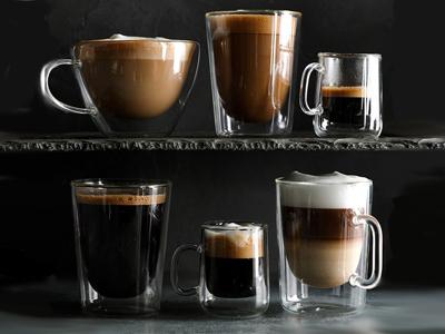 Посуда для кофе: стаканы и бокалы для кофе
