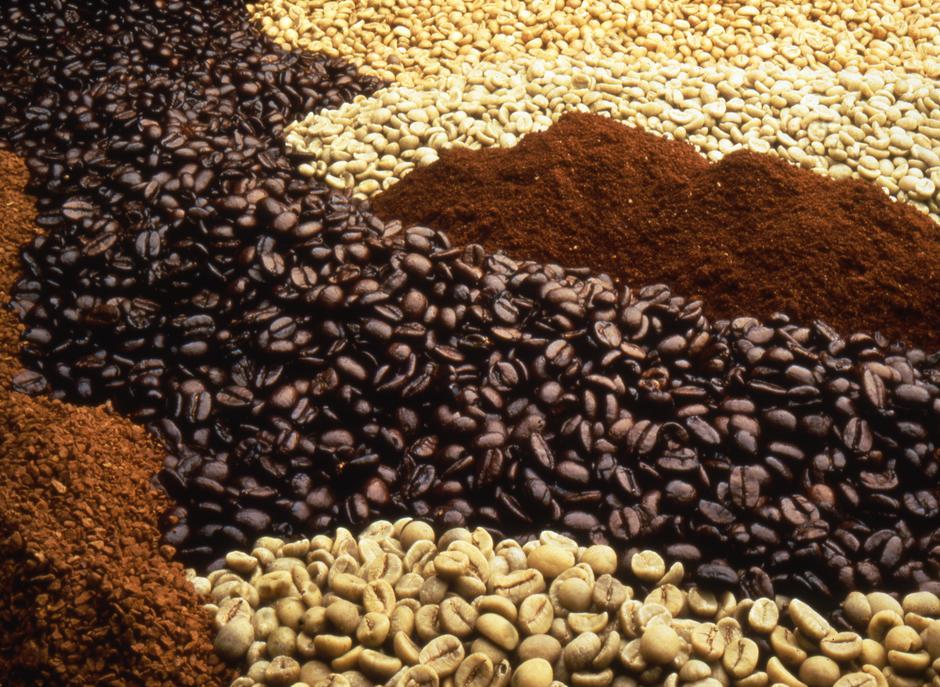 Виды кофе в зернах
