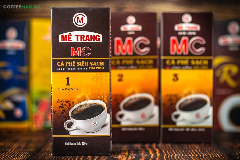 Кофе Me Trang (Ме Транг) молотый