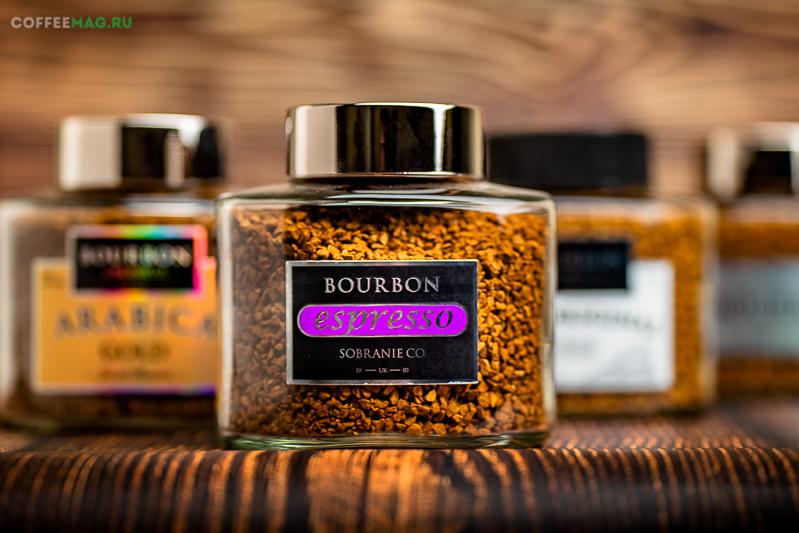 Кофе Bourbon (Бурбон) растворимый