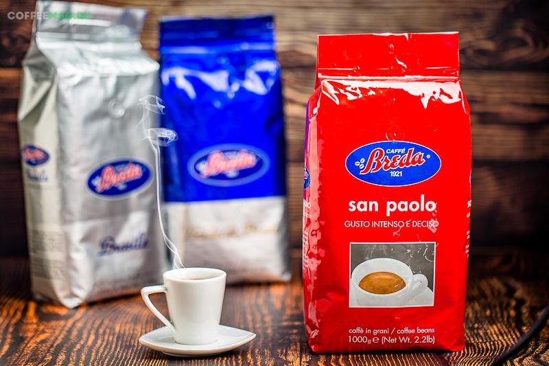 Кофе в зернах Breda (Бреда)