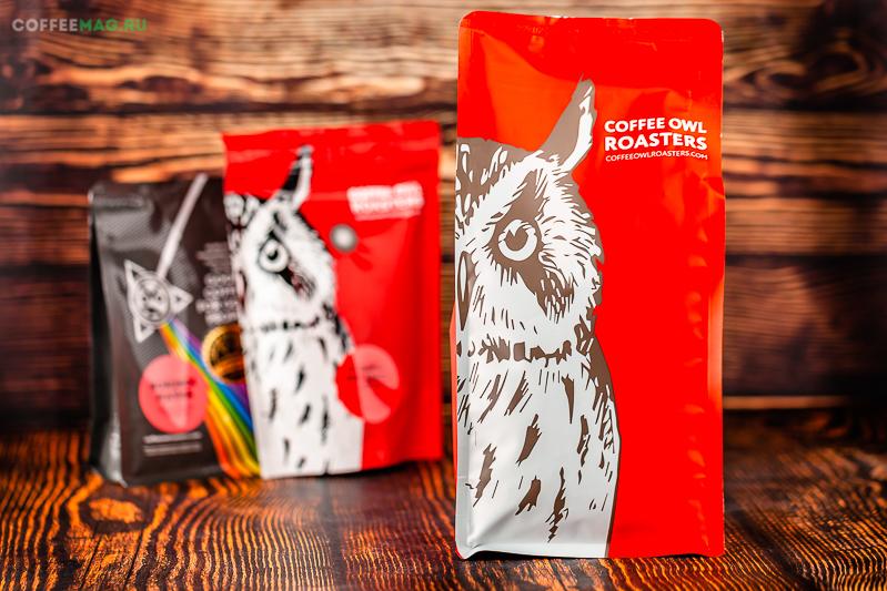 Кофе Owl в зернах