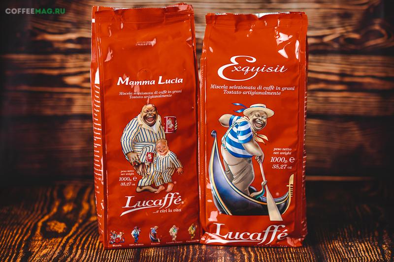 Кофе Lucaffe (Лукафе) в зернах