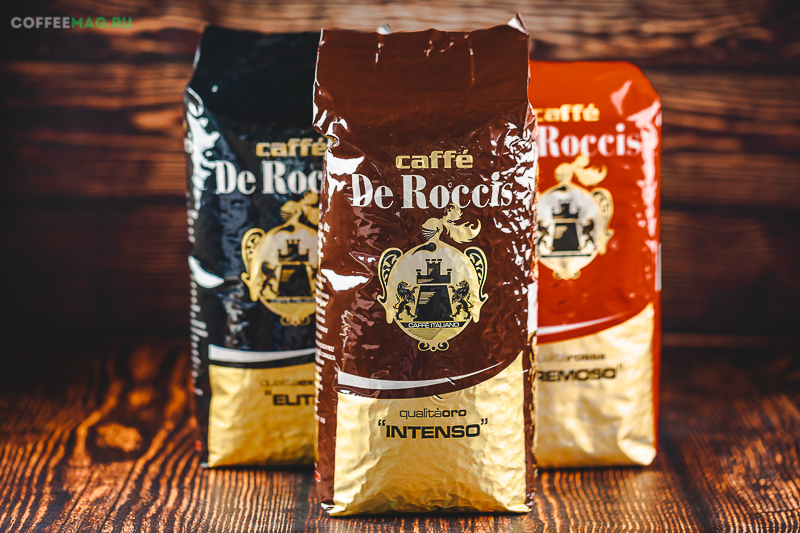 Кофе De Roccis (Де Роччис)