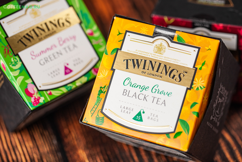 Чай Twinings Lady Grey (25 пакетиков)