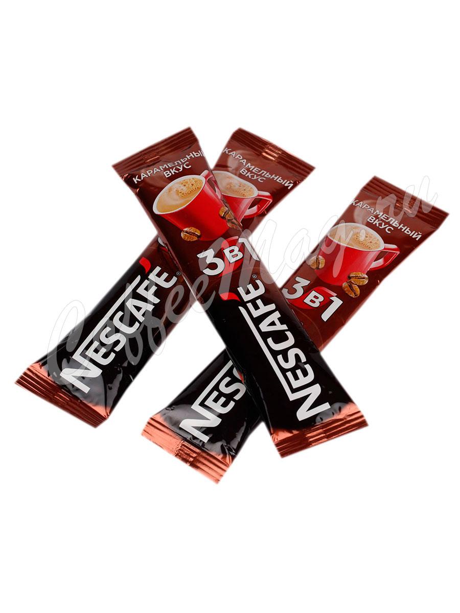 Кофе Nescafe 3 в 1 Карамель 50 шт по 20 гр