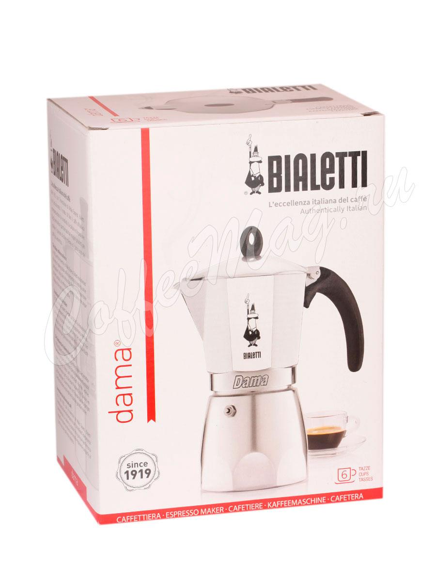 Гейзерная кофеварка Bialetti Dama 6 порции 240 мл