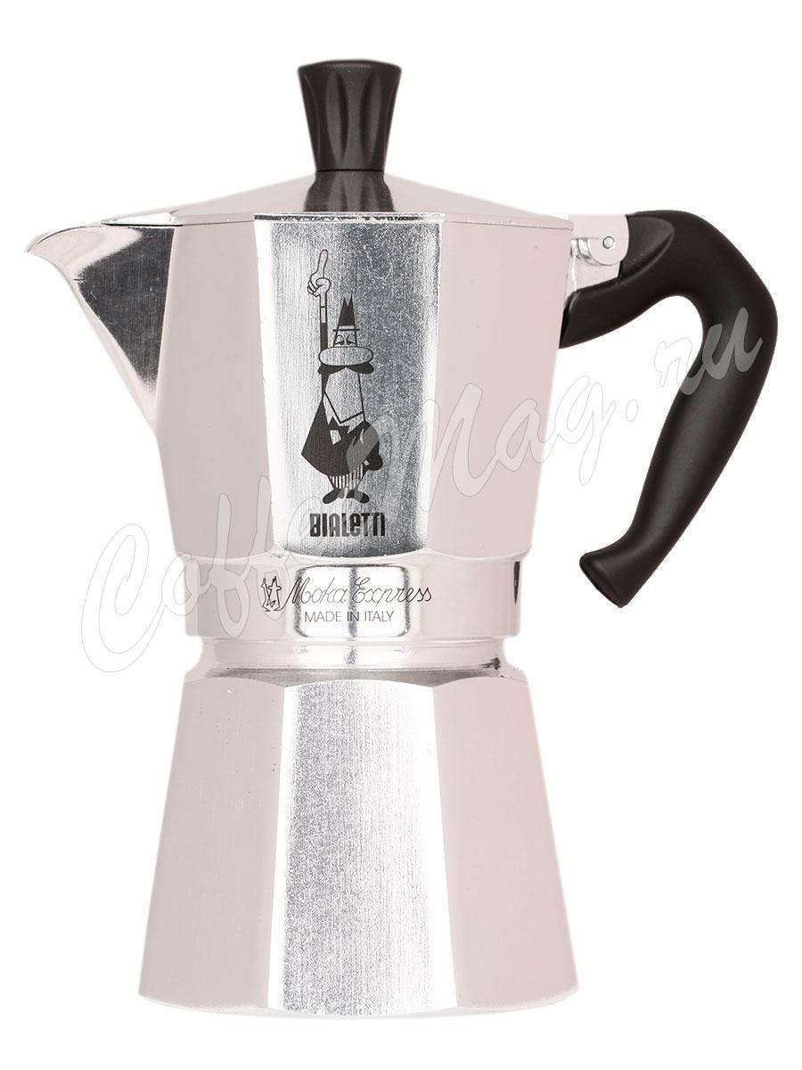 Гейзерная кофеварка Bialetti Moka Express 6 порций 240 мл