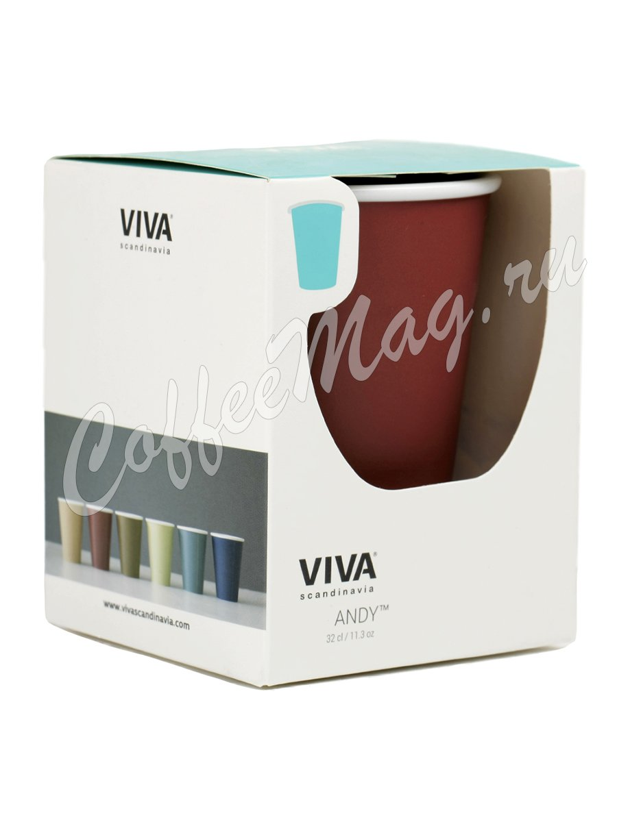 VIVA ANYTIME Andy Чайный стакан 0,32 л (V70853) Бордо