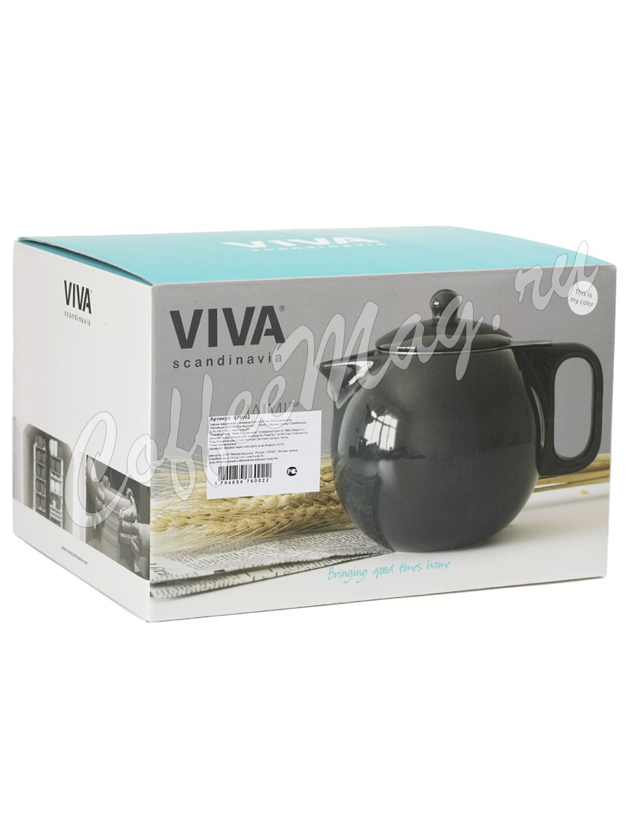 VIVA JAIMI Чайник заварочный с ситечком 0.9 л (V76002)