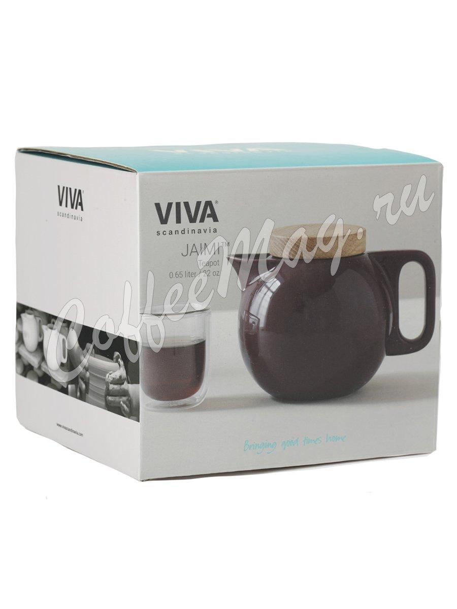 VIVA JAIMI Чайник заварочный с ситечком 0.65 л (V78640) Бордовый