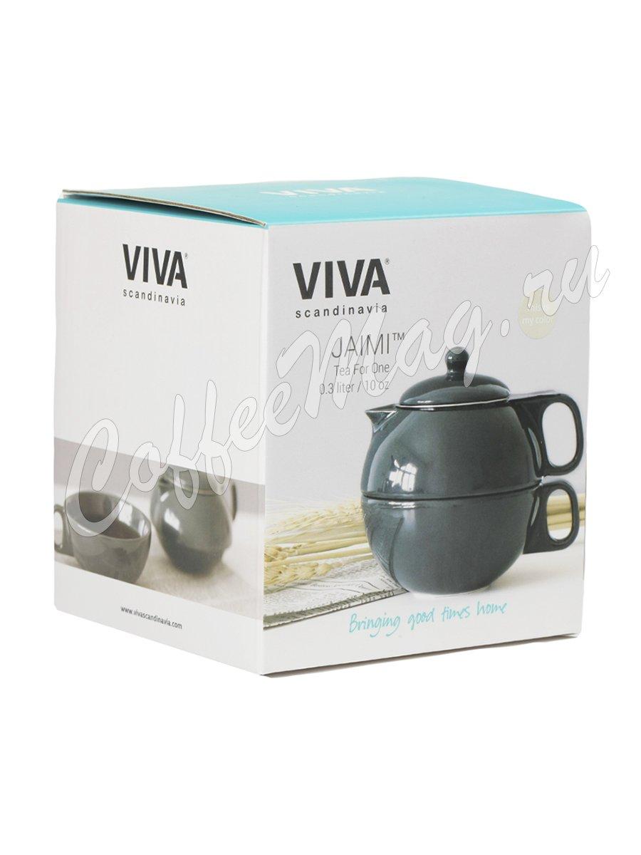 VIVA JAIMI Чайный набор на одну персону 0.3 л (V79941) Бежевый
