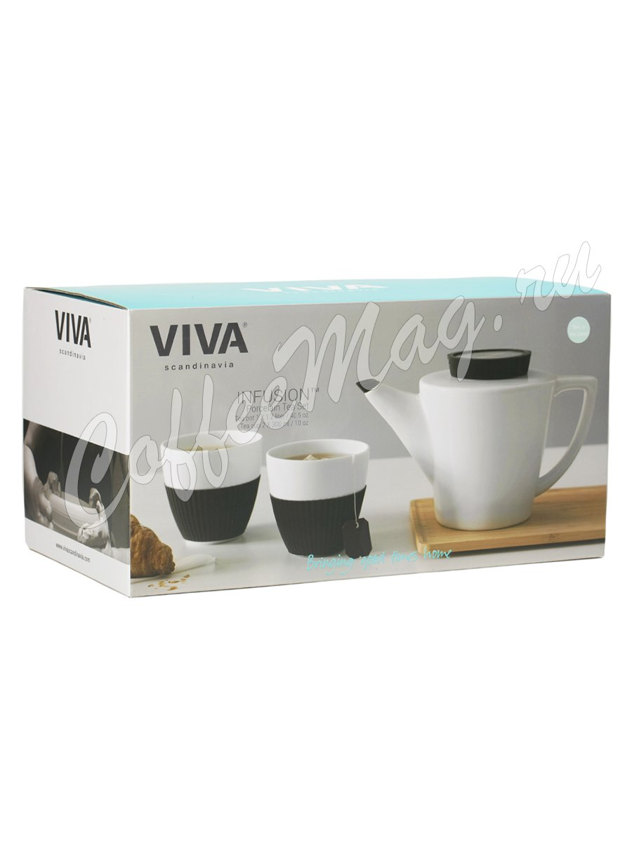 VIVA INFUSION Чайный набор из 3 х предметов (V24124) Мятный