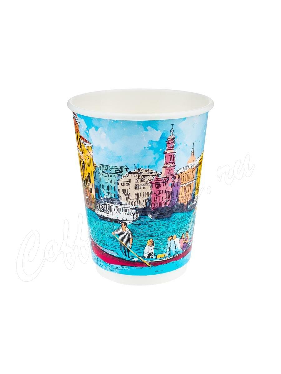 Стакан бумажный Паперскоп Big City Life Thermo 300 мл (20 шт)