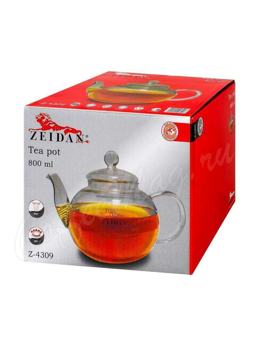 Чайник Zeidan стеклянный 800 мл (Z-4309)