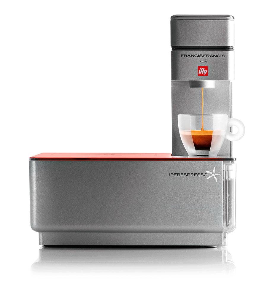 Кофеварка Francis-Francis Y1 (Фрэнсис-Фрэнсис) Y1