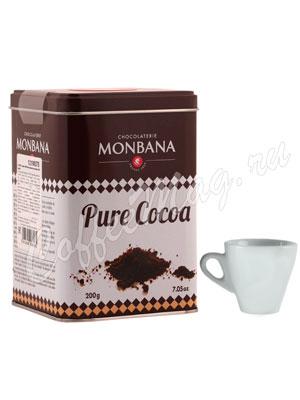 Какао-порошок Monbana 200 гр ж.б.