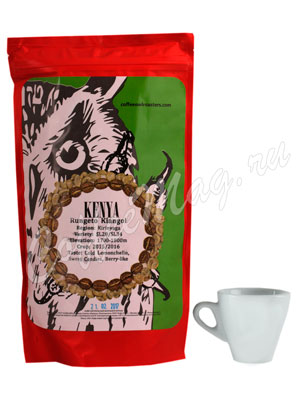 Кофе Owl в зернах Kenya Rungeto Kiangoi 250 гр