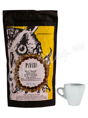 Кофе Owl в зернах Panama Elida Natural 250 гр