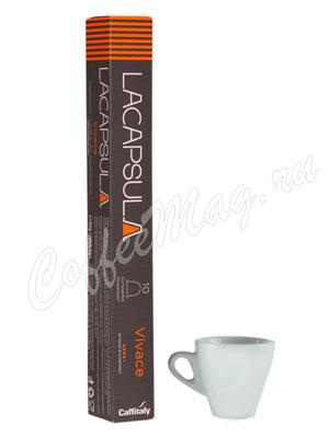Кофе Lacapsula в капсулах Vivace 10 капсул по 5,5 гр