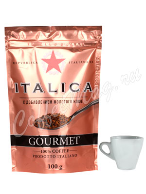 Кофе Italica растворимый Gourmet 100 гр (пакет)