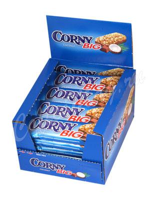 Батончики Мюсли Corny Big Кокос с молочным шоколадом
