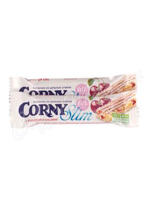 Батончики Мюсли Corny Slim Вишня-йогурт