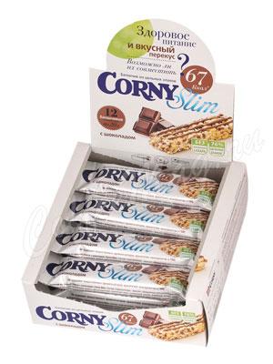 Батончики Мюсли Corny Slim Шоколад