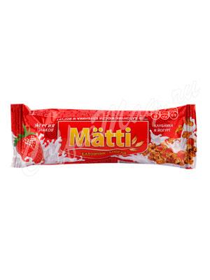 Мюсли Matti Клубника в йогурте