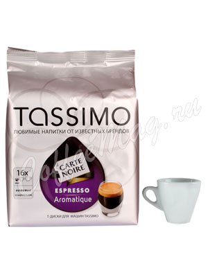 Кофе Tassimo Carte Noire Espresso Aromatique