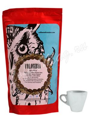 Кофе Owl в зернах Colombia Quindio Washed  1 кг