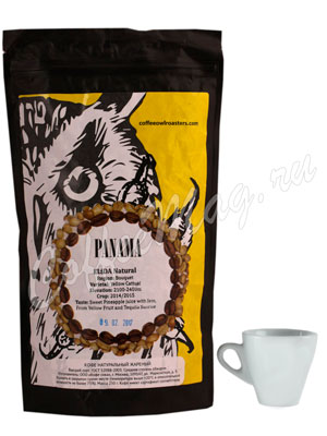 Кофе Owl в зернах Panama Elida Natural 1 кг