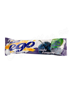 Батончики Мюсли Ego Слива в йогурте