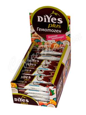 Батончики Diyes Гематоген Кокосовый с фруктозой