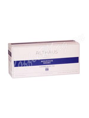 Чай Althaus Mountain Herbs/ Горные Травы для чайника 20х4гр