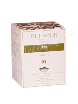 Чай Althaus Lung Ching/ Лунг Чинг Пирамидки для чашки 15х2,75гр