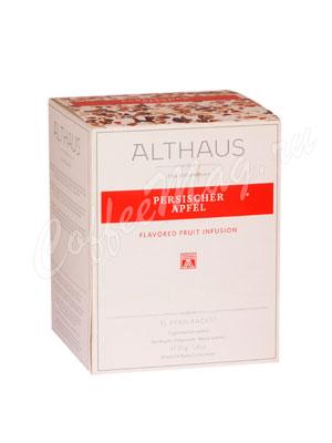 Чай Althaus Persischer Apfel/ Персидское яблоко Пирамидки для чашек 15х2,75гр