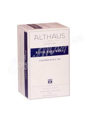 Чай Althaus Royal Earl Grey/ Ройал Эрл Грей для чашки 20х1,75гр