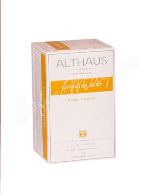 Чай Althaus Bavarian Mint/ Баварская Мята для чашки 20х1,75 гр