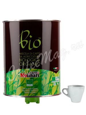 Кофе Molinari в зернах Biologica Organic 3 кг