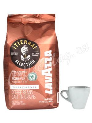 Кофе Lavazza в зернах Tierra Intenso 1 кг