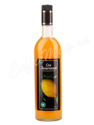 Сок лимонный концентрированный 1 л