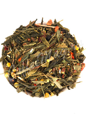 Зеленый чай Силуэт на сенче