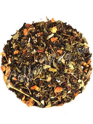 Черный чай Чистые сосуды