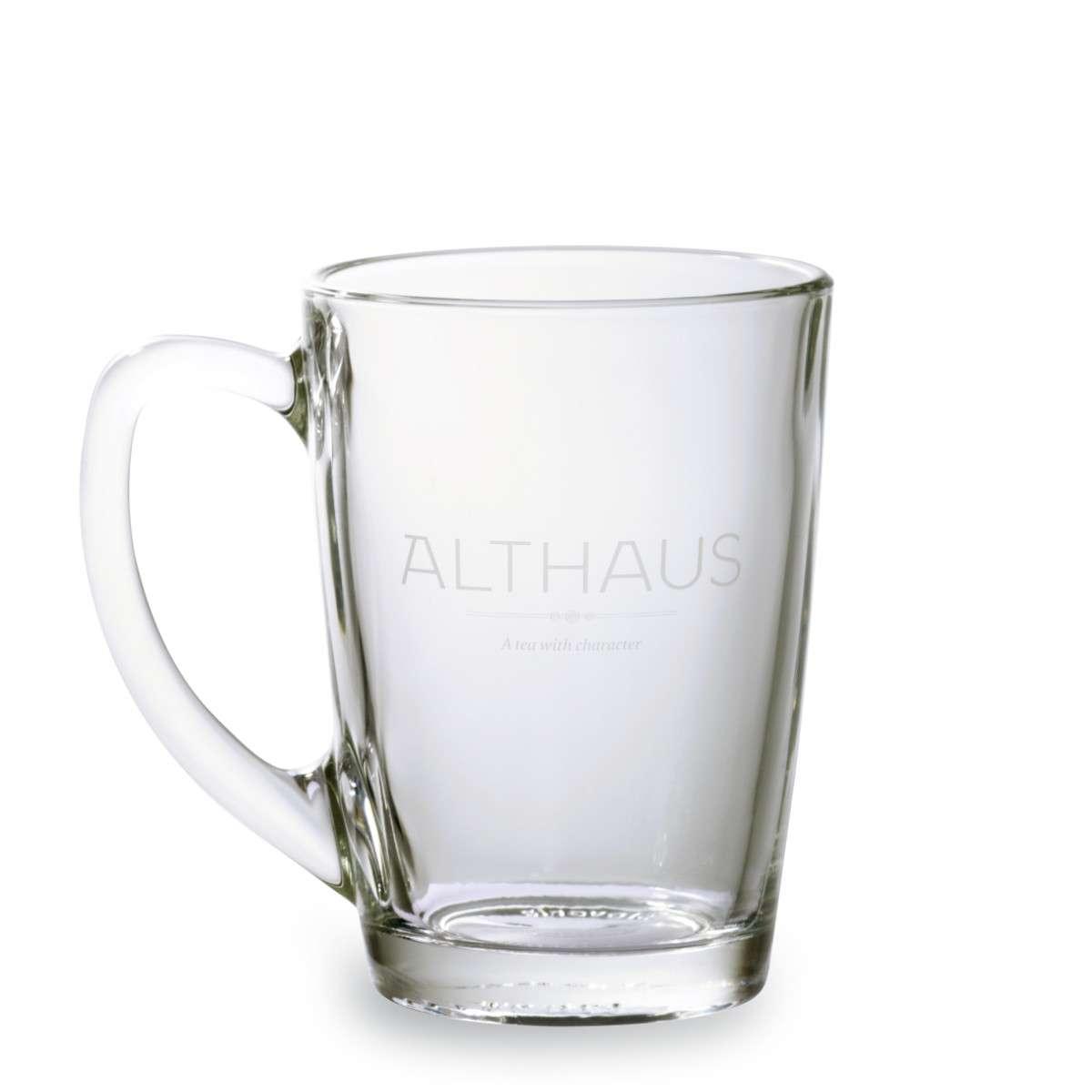 Кружка Althaus стекляная 300 мл