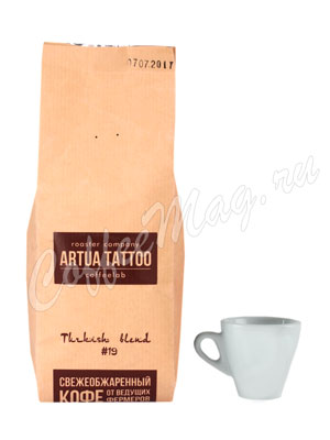 Кофе Artua Tattoo Coffeelab Смесь 19 в зернах 250 гр